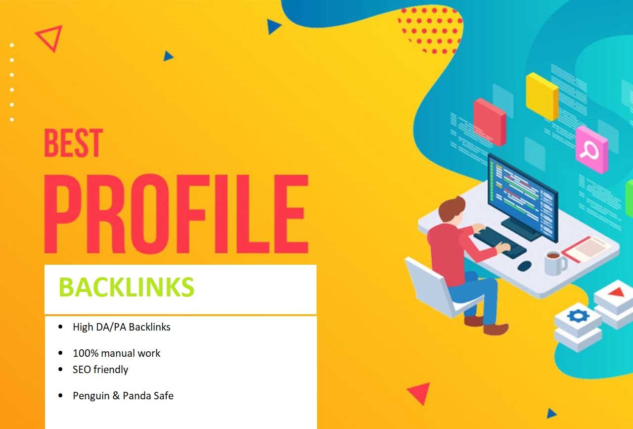 I will do 200 high authority SEO dofollow profile backlinks