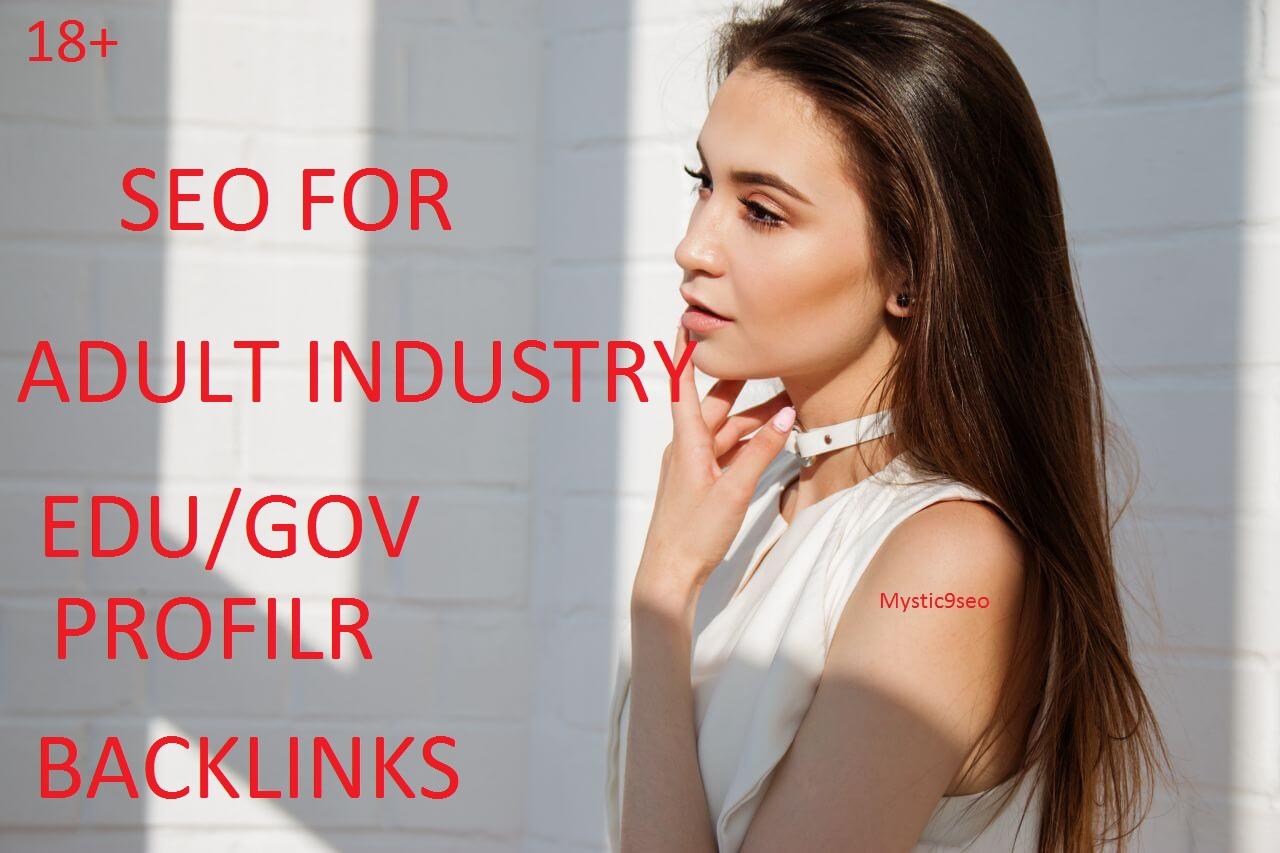 Create manual 50 edu/gov profile backlinks for adult/porn related website