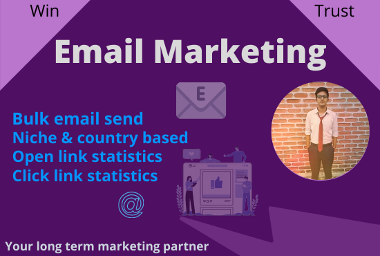 I will optimize your 5000 niche targeted bulk email list for email marketing