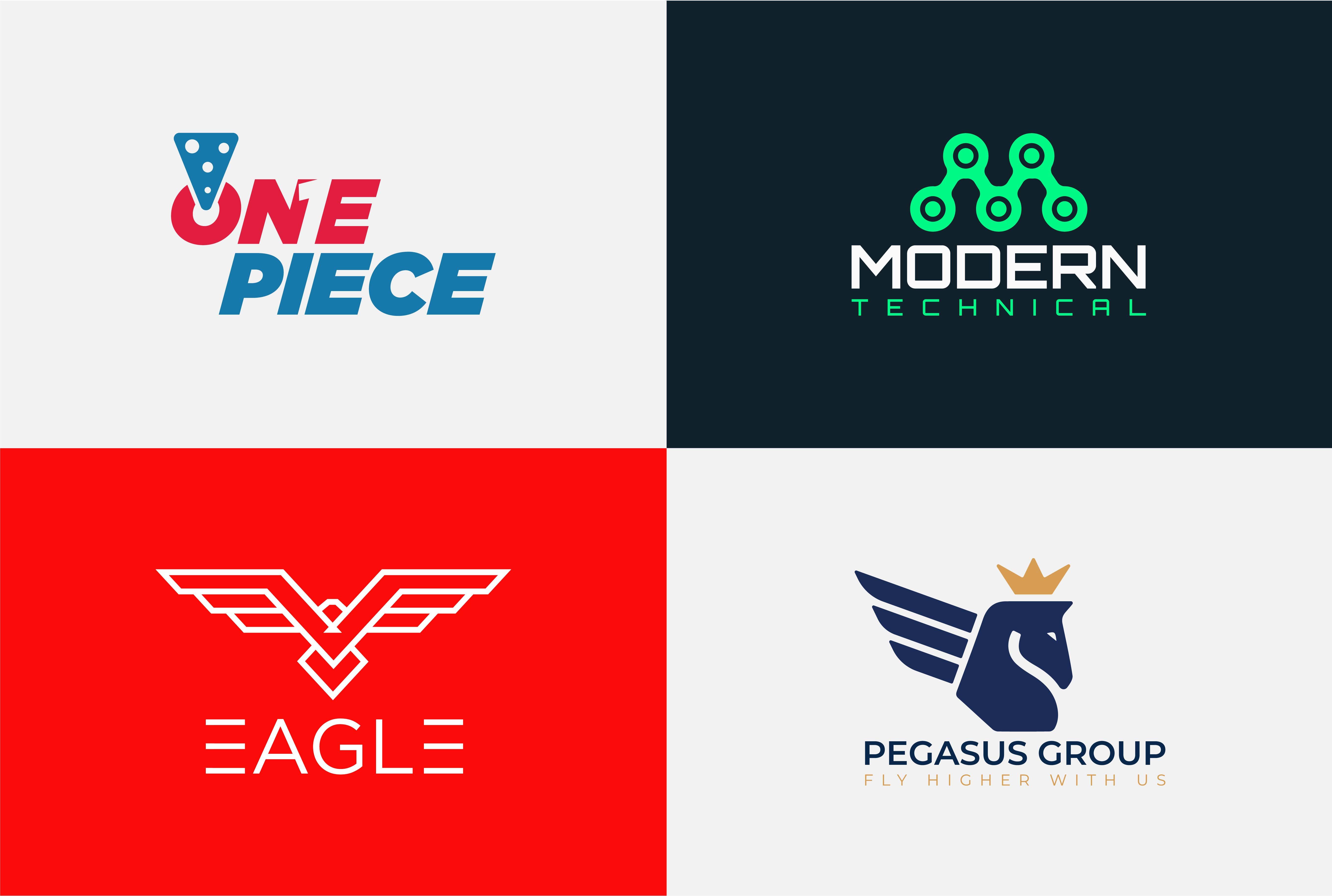 I will create professional modern minimalist creative logo design