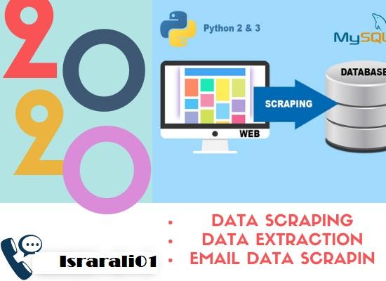 I will do Web Scraper,  Web Scraping,  data mining,  data extraction