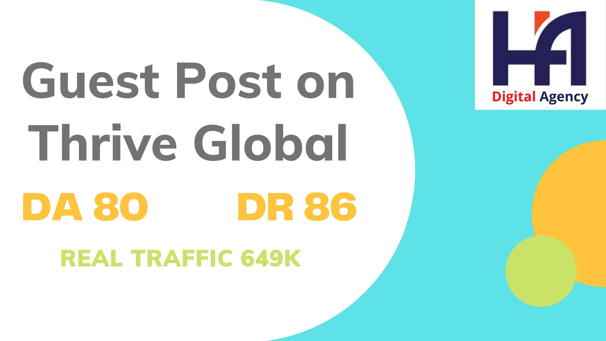 I will do publish an article on thrive global