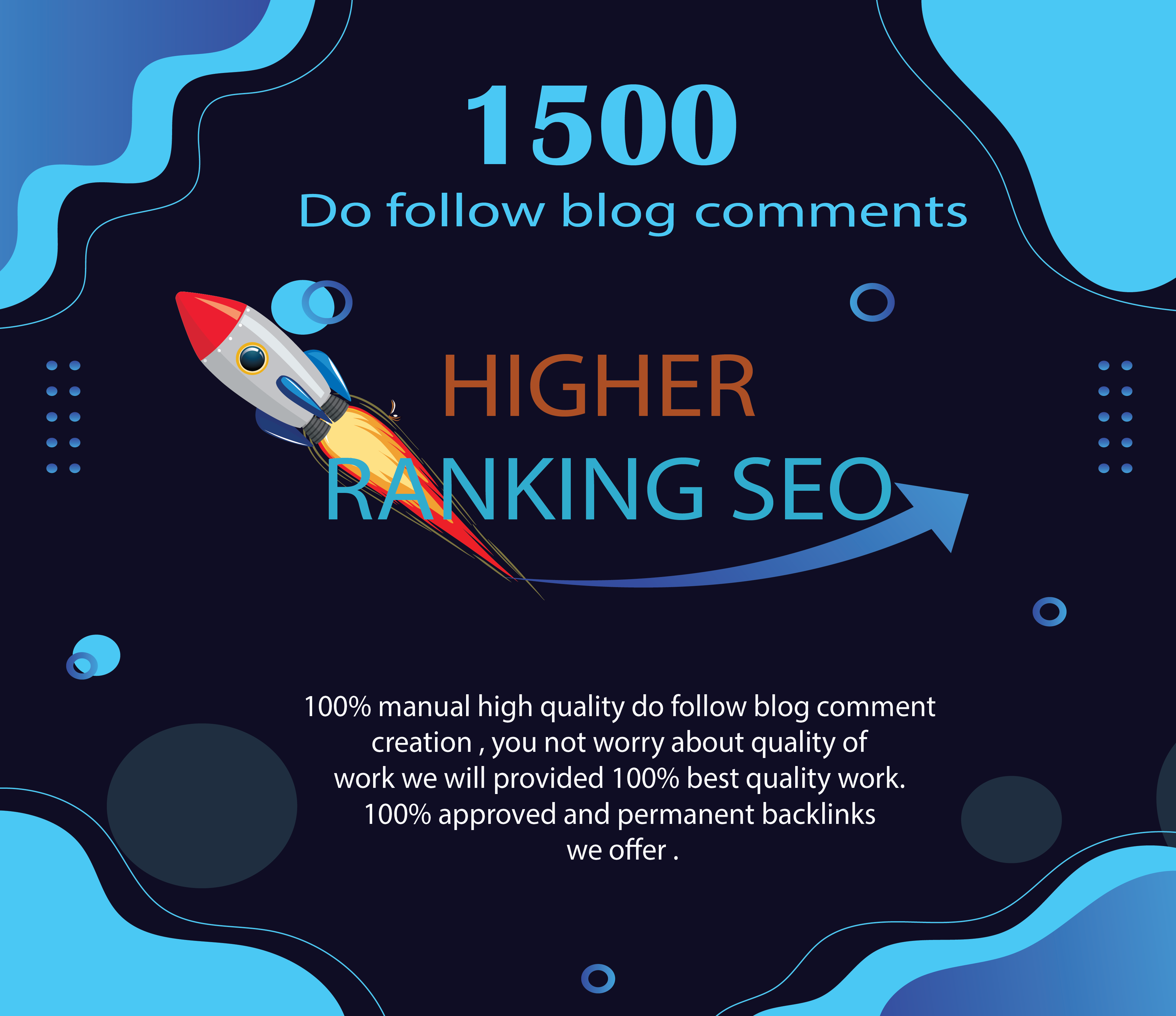 I will provide 1500 unique quality blog comments backlinks to an excellent domain