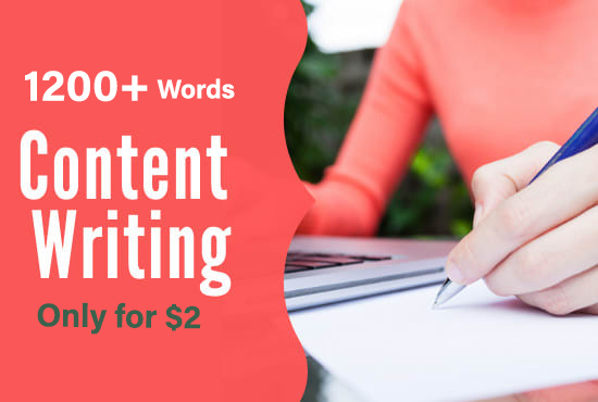 I will write 1200+ SEO friendly web site content & blog post on any topic
