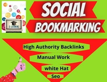 I will create 20 Social Bookmarking Backlinks for Boost Your SEO Ranking
