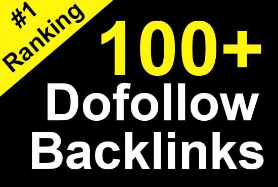 I will build 100+ high authority contextual SEO dofollow backlinks