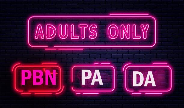 I will 200 manually create PBN adult, Casino,  poker, pa, da, dofollow backlinks dating sites