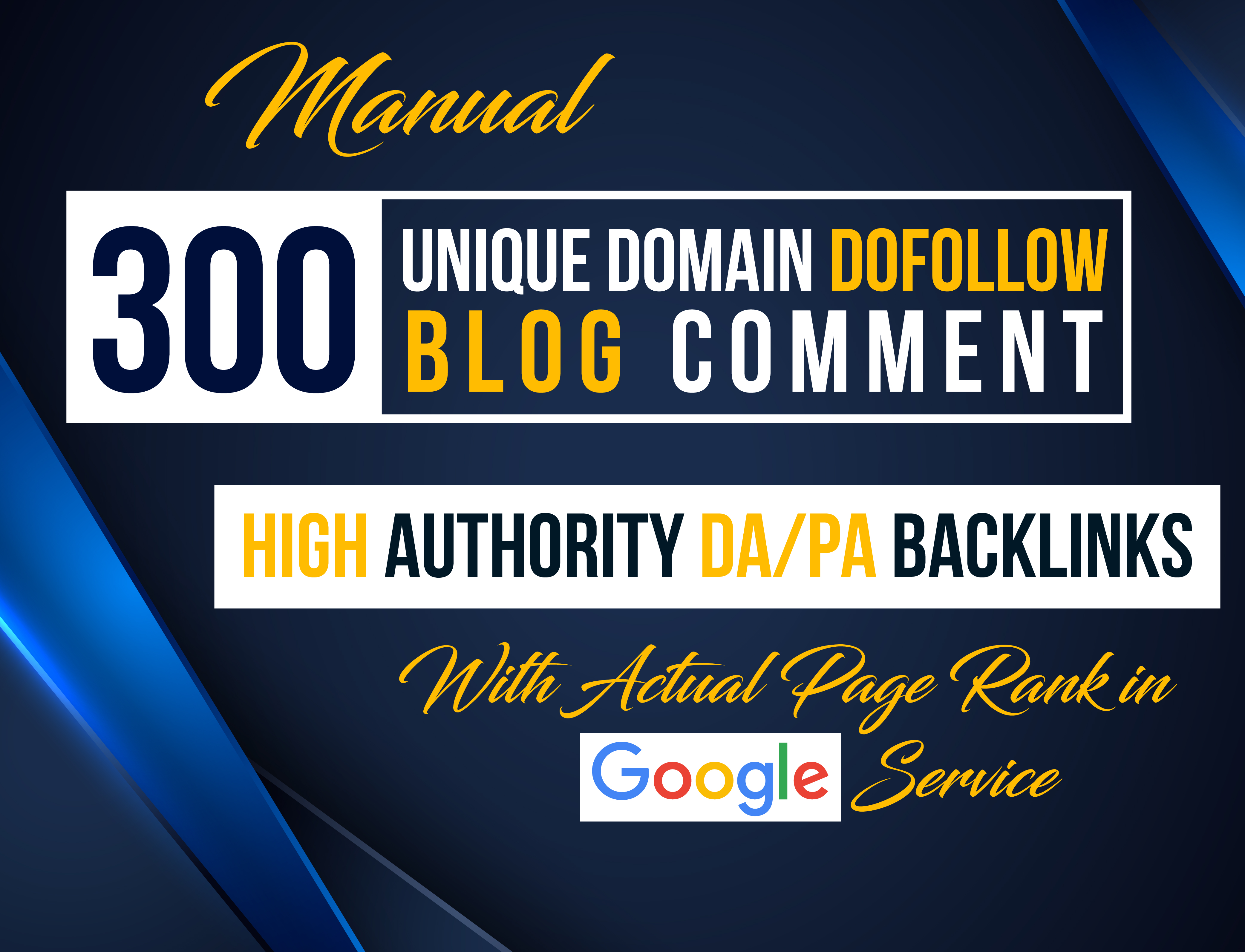 I Will Provide 300 Blog Comments High DA PA Low OBL