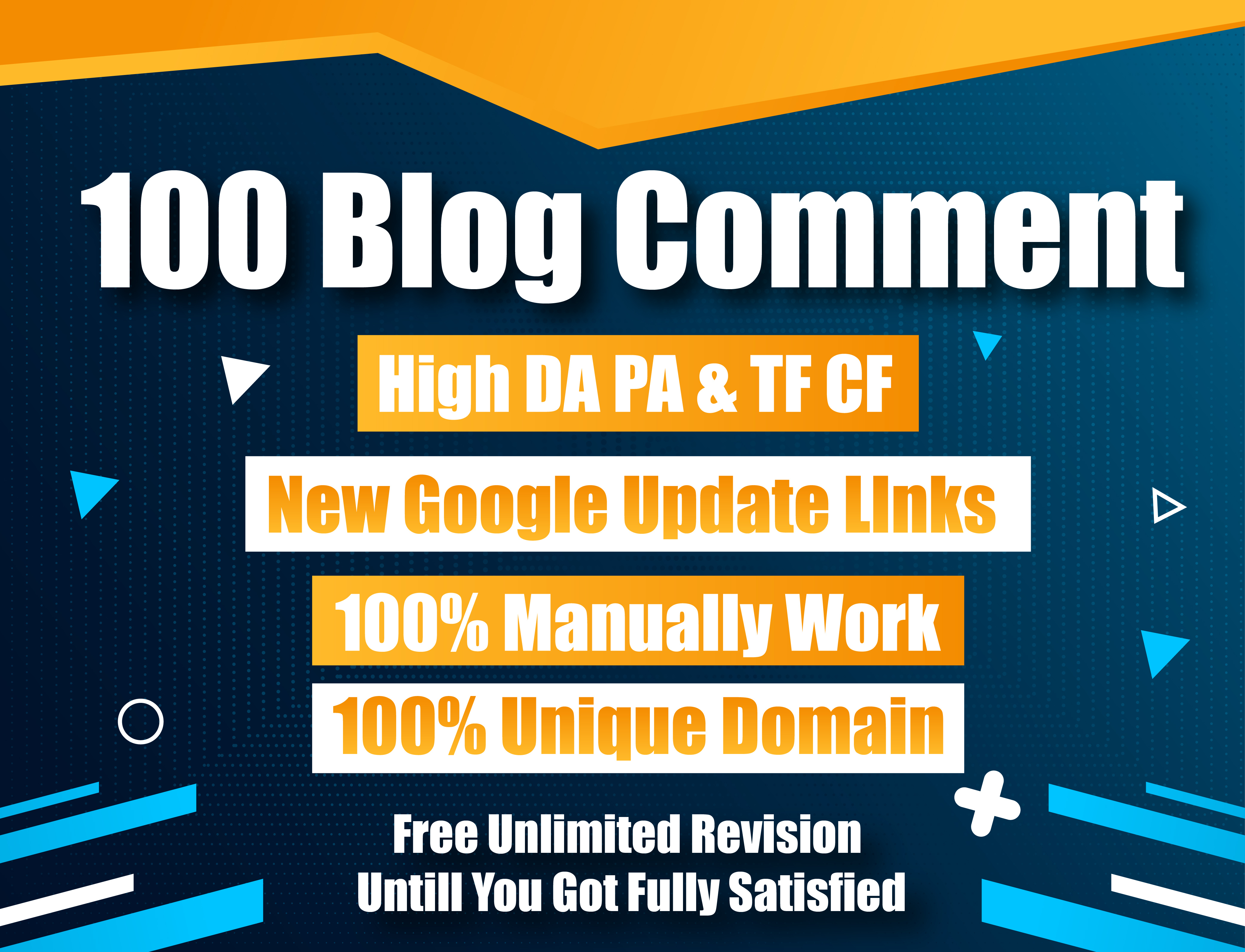 I Will Provide 100 Blog Comments High DA PA Low obl