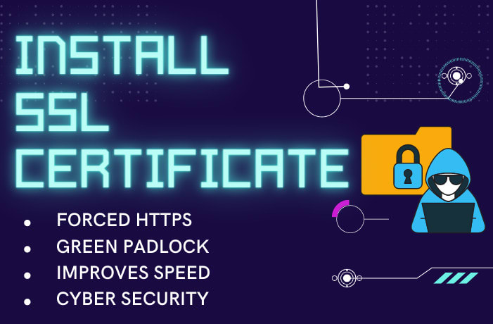 I will install SSL certificate,  https,  fix SSL,  cloudflare CDN,  letsencrypt on godaddy