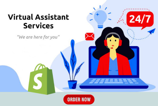 I will be shopify virtual assistant,  shopify store manager,  shopify VA