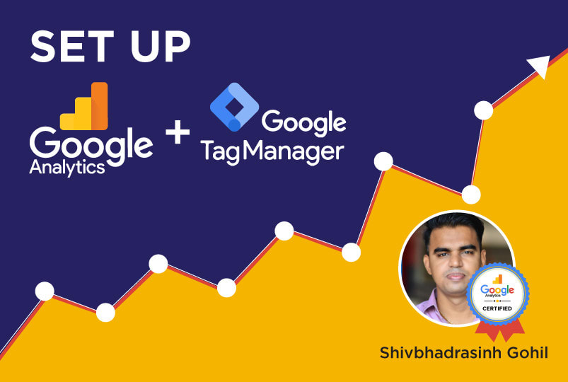I will set up google tag manager and analytics