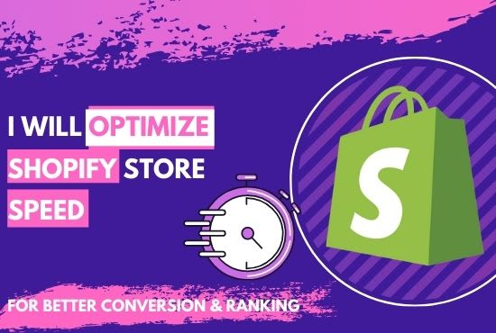 I will do shopify speed optimization to boost sales