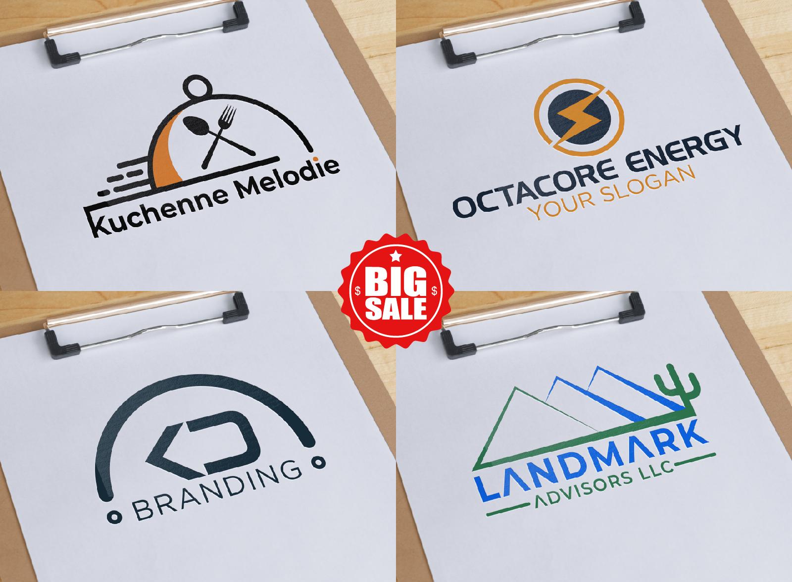 I will do corporate minimalist brand logo design in 12 hours