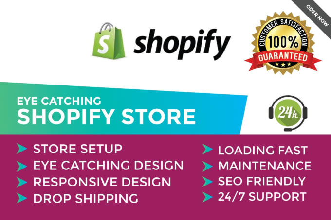 I will build 10k profitable shopify store,shopify website with shopify winning products