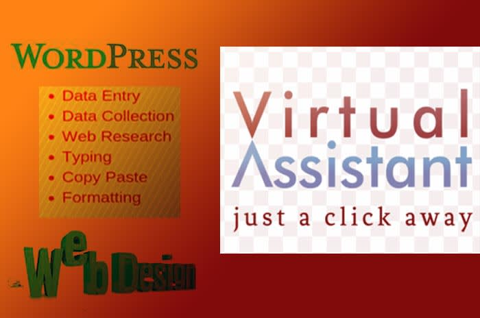 I will be your virtual assistant websites hiring secretary