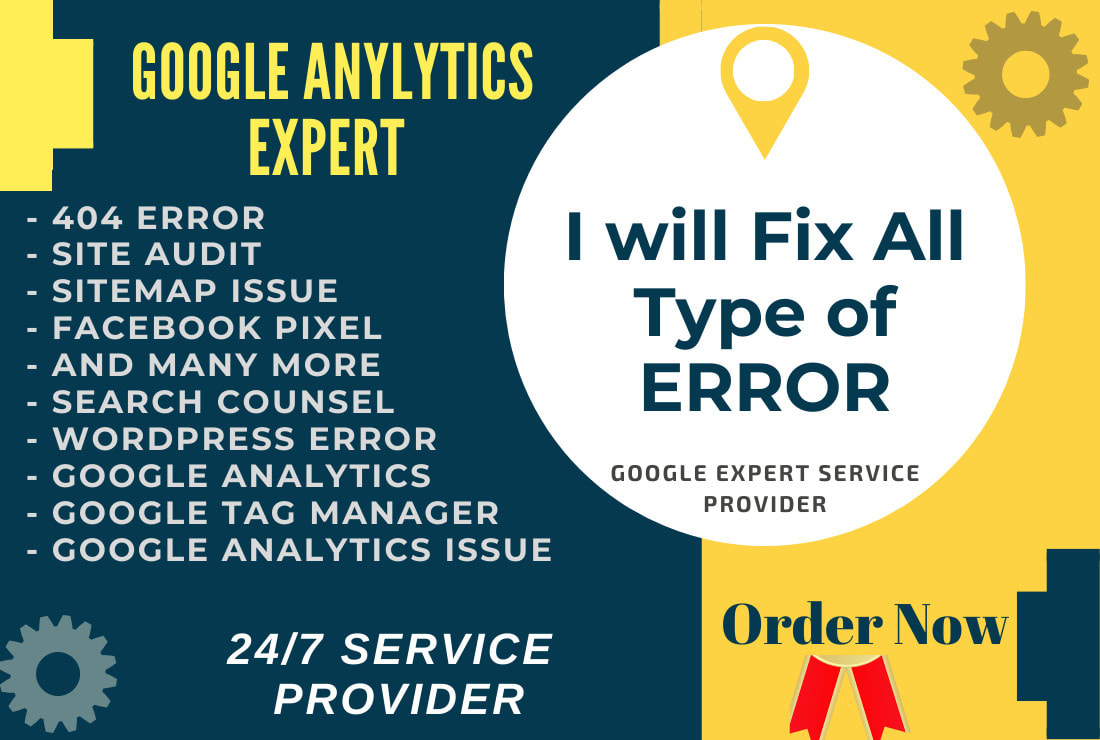 I will setup and fix google analytics issues in 2hours
