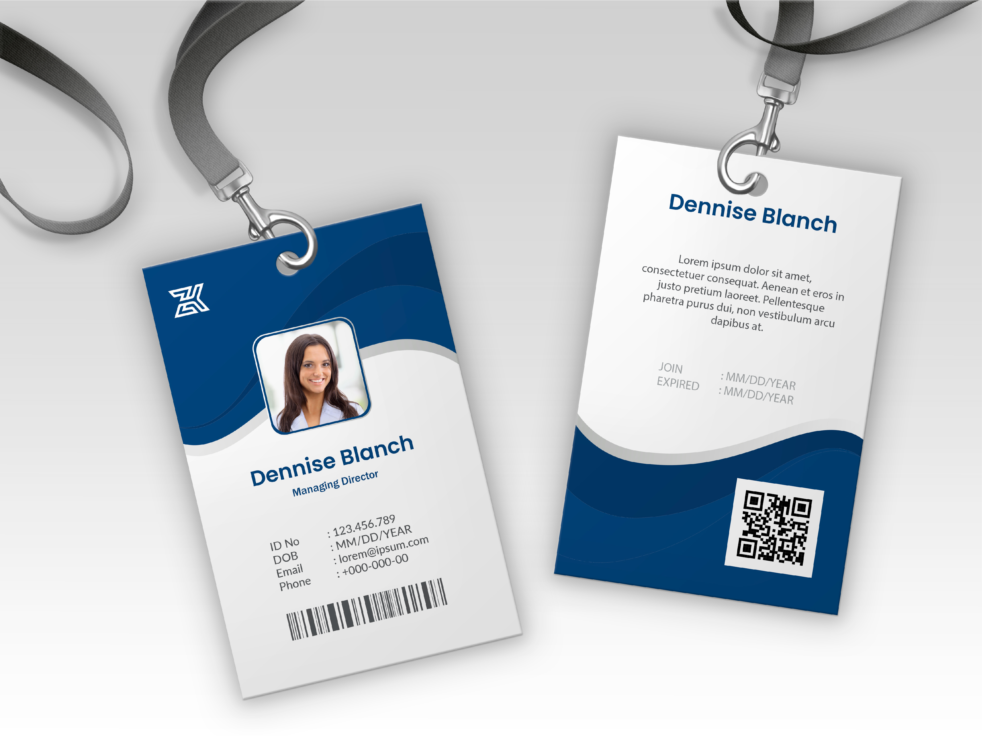 I will do Student,  Company or Official ID card design professionally