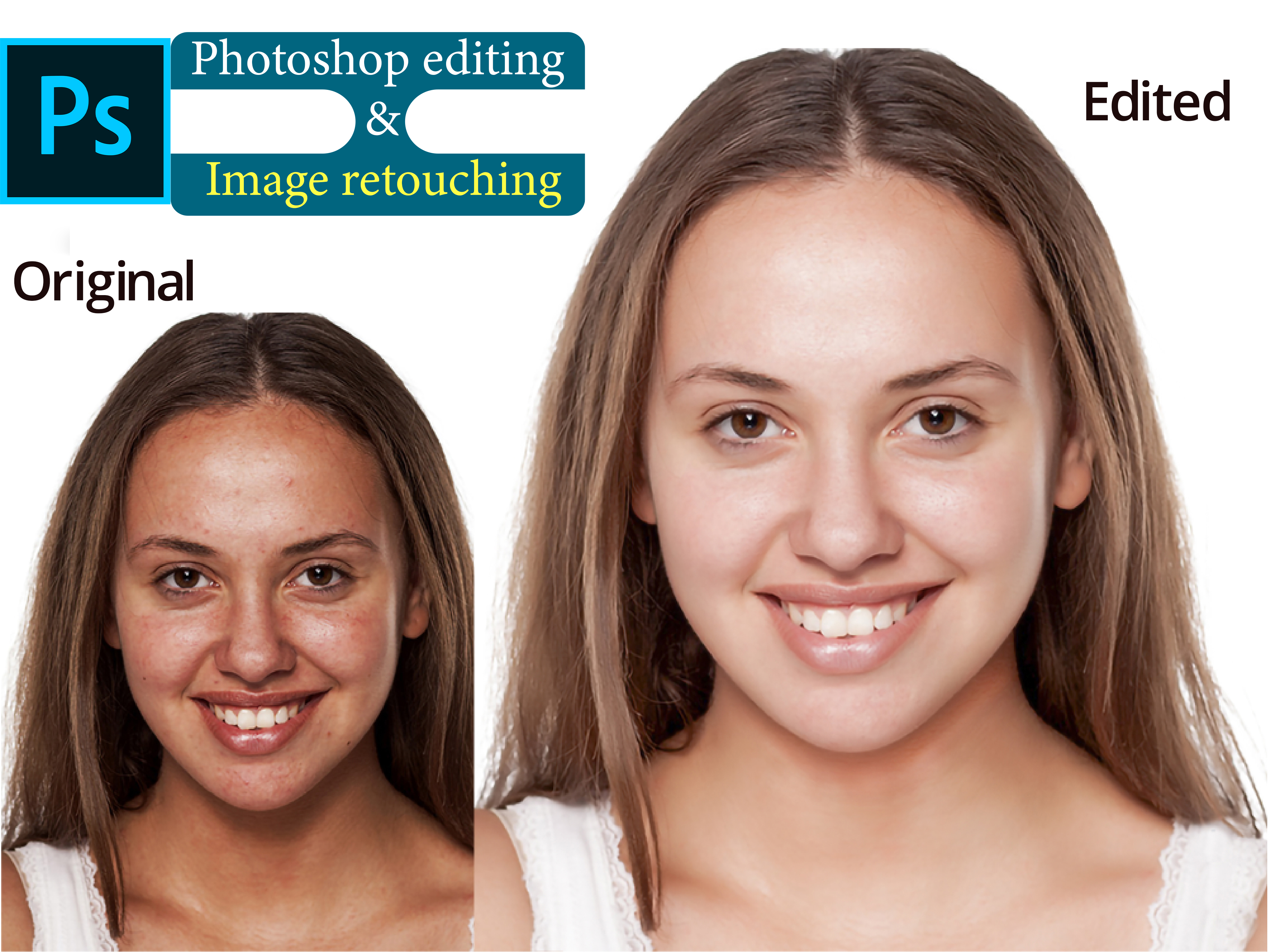 You will get Nice Photo editing & Image retouching very fast
