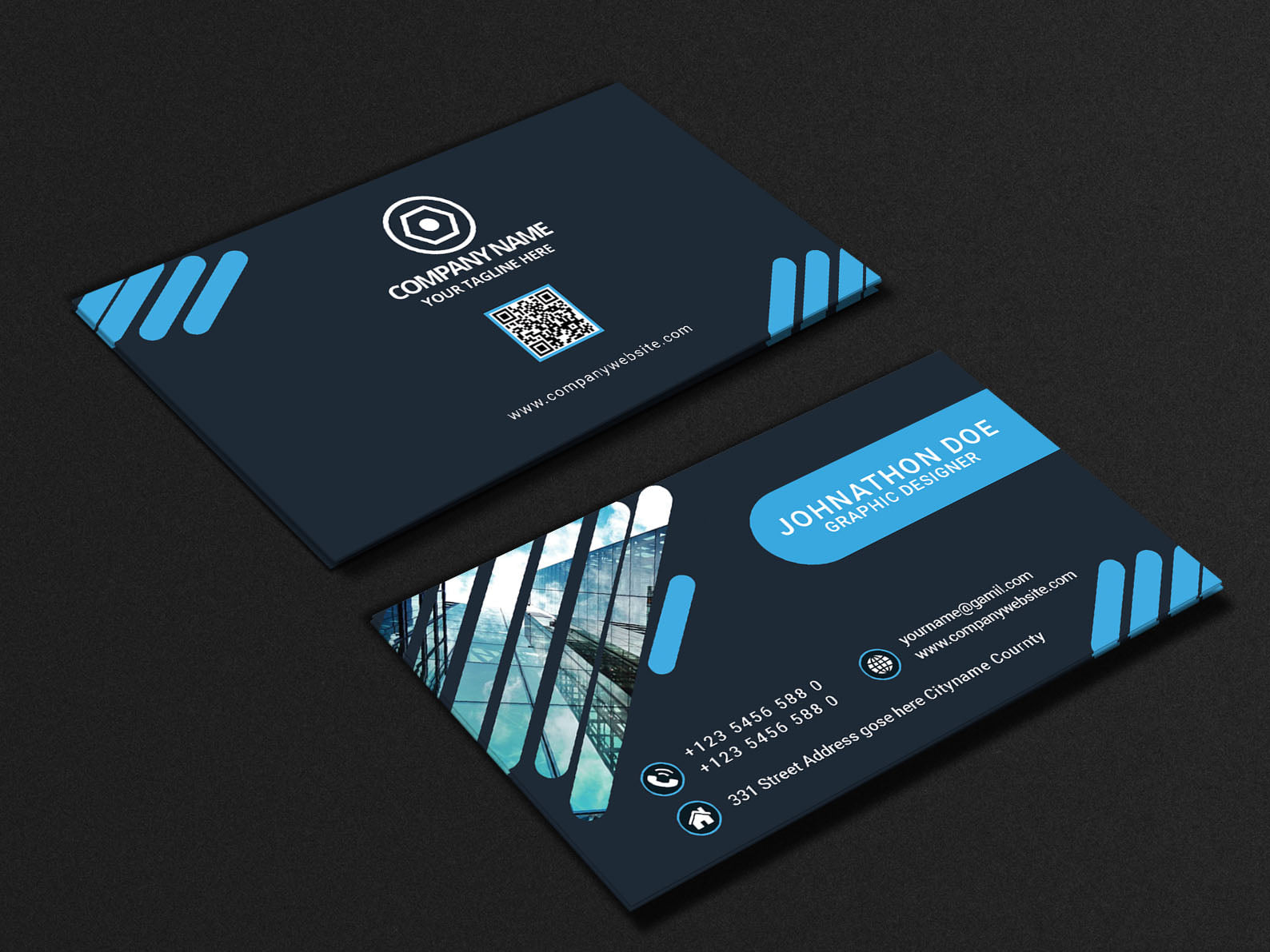 I will design an outstanding business card