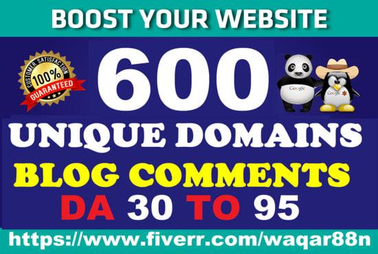 Create 200 do-follow blog comment backlinks .