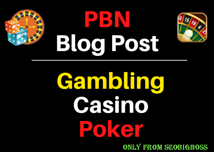 50 Casino Blog Post- Casino, Gambling, Poker, Betting, Sports Site From Web2.0 Poperties