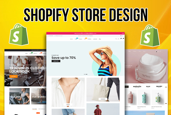 i will create shopify dropshipping store and shopify ecommerce website