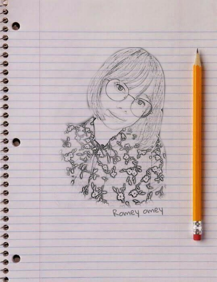 I will create a pencil sketch for you