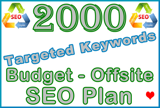 2,000 Targeted Keywords with Our Budget - Offsite SEO Importance Plan
