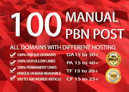 I will 100 manual pbn post high quality dofollow backlinks