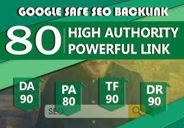 I will do 80 unique pro10 backlinks on da100 sites