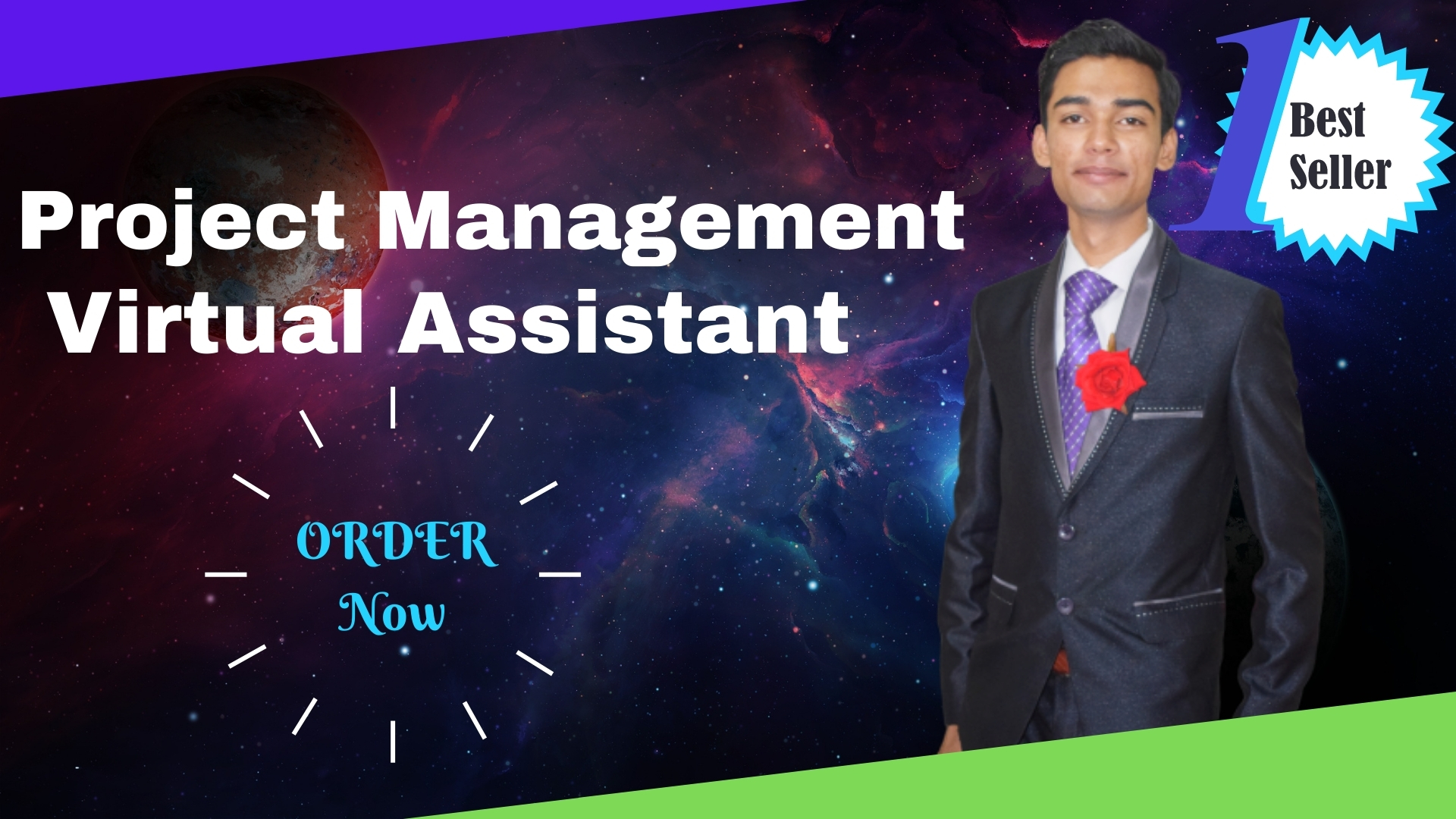 I will be your project management virtual assistant trello,  asana,  hubspot and slack