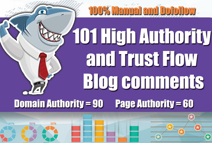 I will do 101 high quality blog comments backlinks