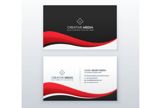I will design interesting business card in short time