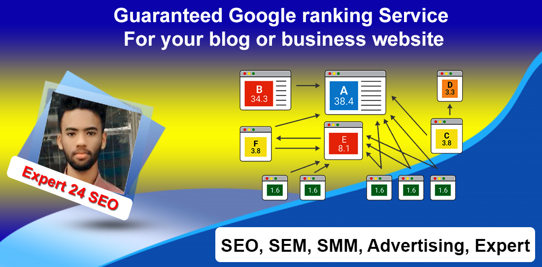 Guaranteed Google ranking Service For your blog or business website