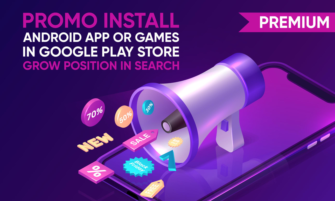 I will make aso promo of your android app or game