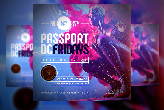 I will do a professional flyer design,event and business flyers