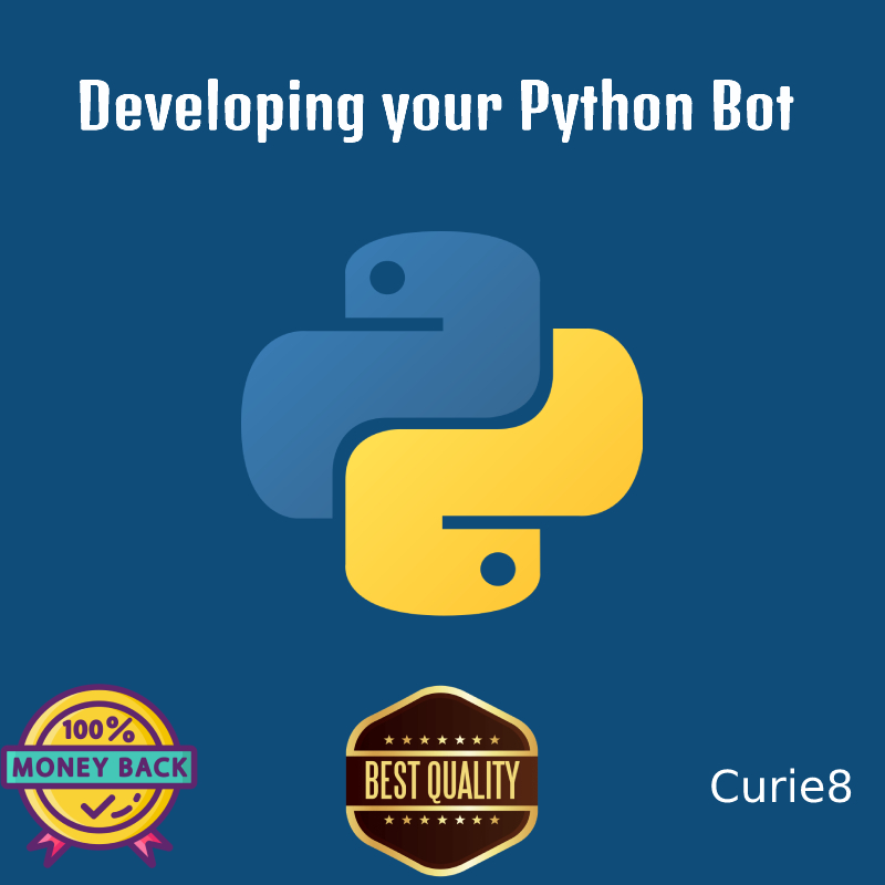 Developing your Python software/Bot