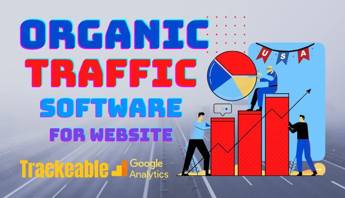 Website Traffic Software Targeted USA Organic Traffic