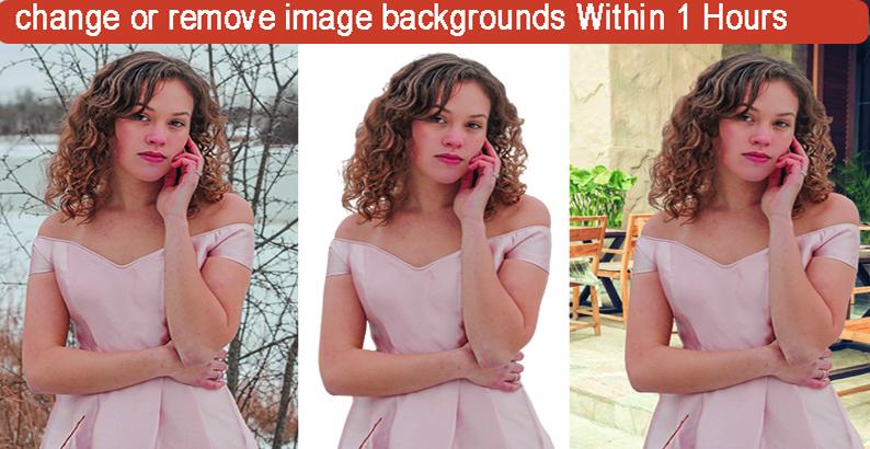 I will do Photoshop edits and background remove any image professionally