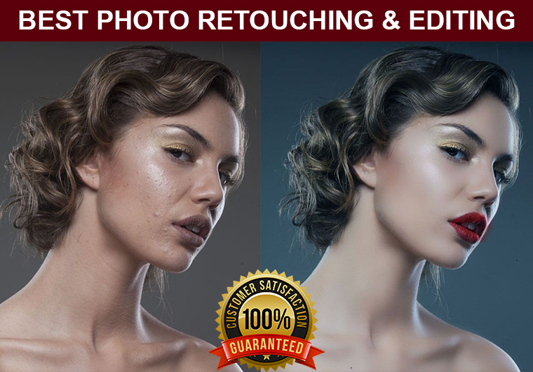 I will do professional portrait photo retouching