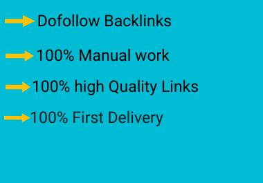 I Will create 100 Dofollow profile backlink