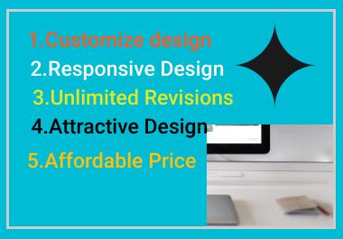 i Will Design personal,business Wordpress Website