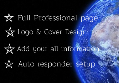 I will create professional Facebook business page.