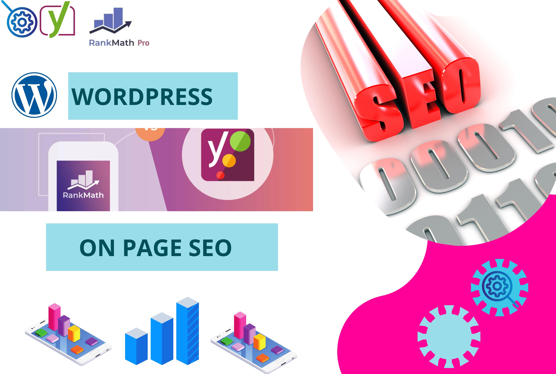 I will do complete WordPress Yoast On Page SEO service to rank