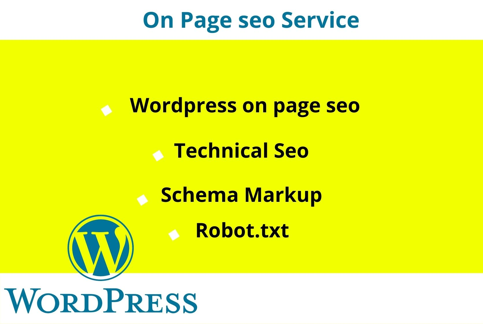 Monthly SEO Service Rank Your Site On First Page With Complete WordPress site