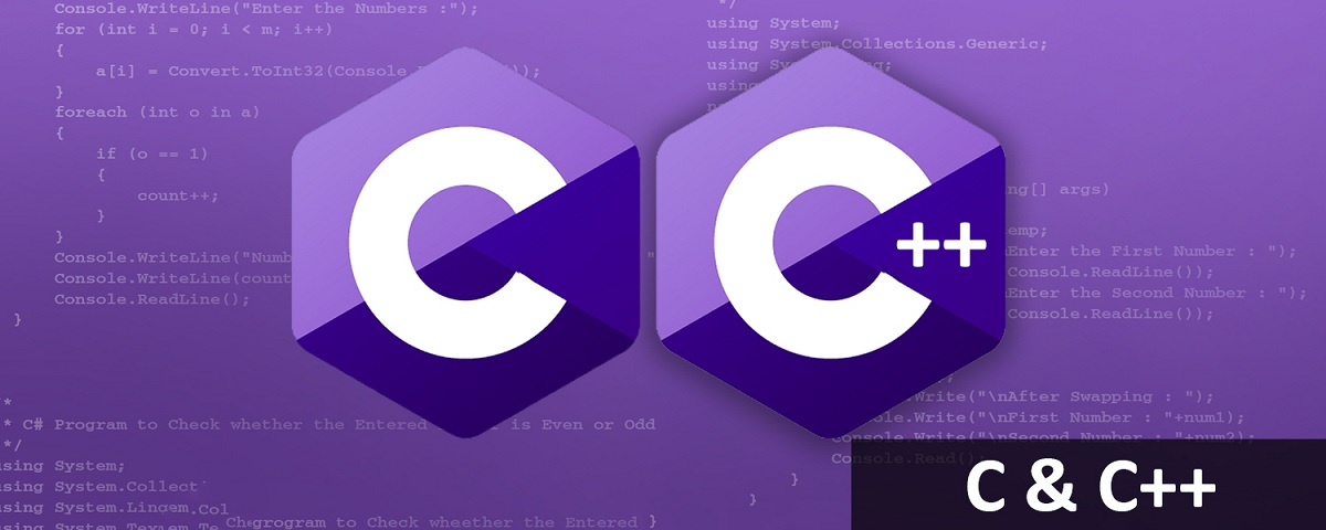 Implementing or writing any project or program in C + or C language