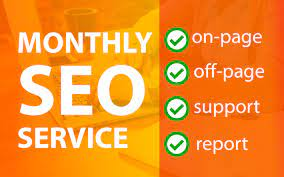 I will do 30 days website seo service for google first page ranking