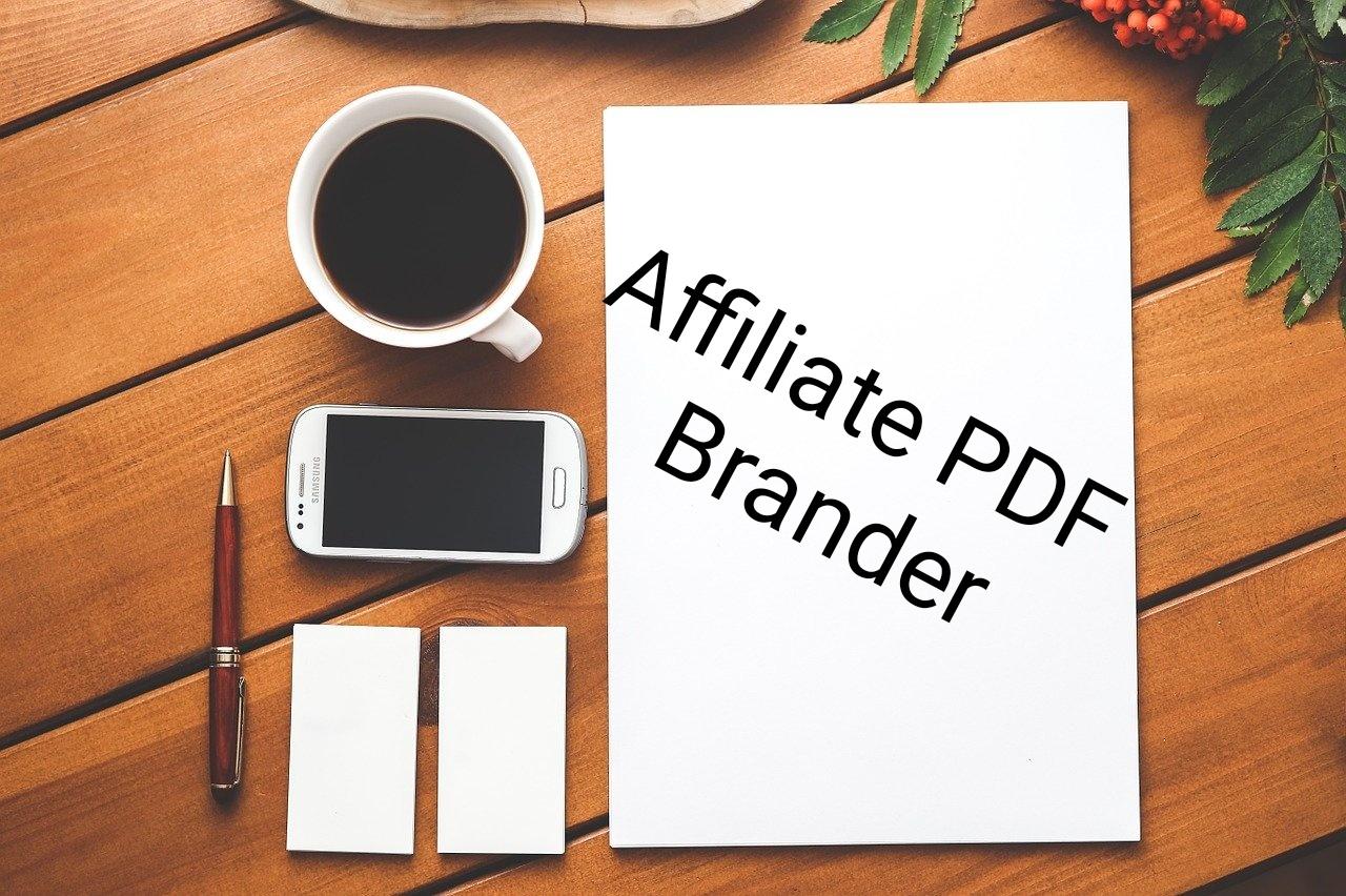 Affilate Pdf Brander affiliate PDF Brander
