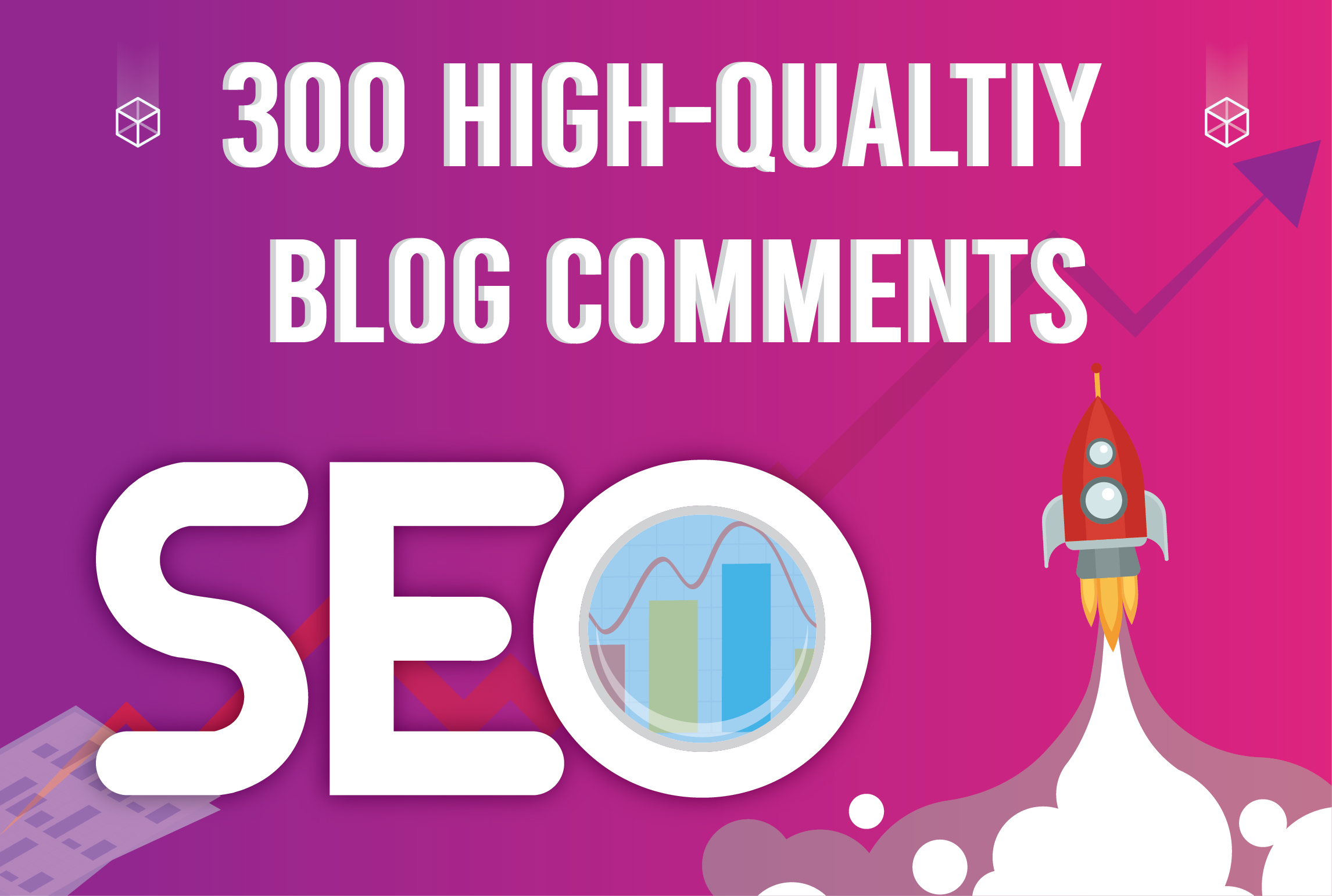 I will create 300 high quality blog comments
